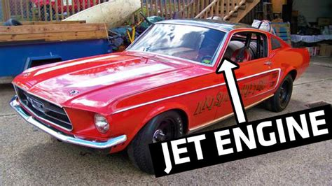 coolest mustangs is this 308 mph jet dragster the coolest mustang on sale
