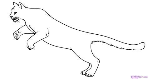 dibujos de pumas step 7 how to draw a puma cat