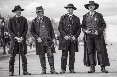 wyatt earp and brothers in tombstone arizona during wild