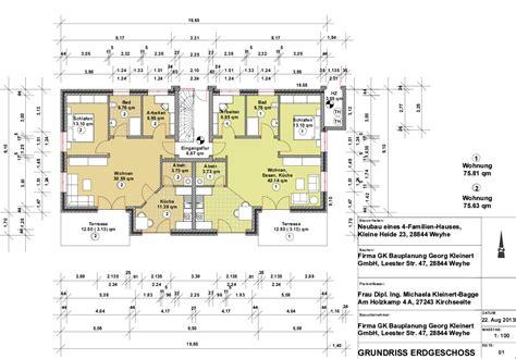 grundriss 3 familienhaus neubau exklusive eigentumswohnungen in zentraler lage in