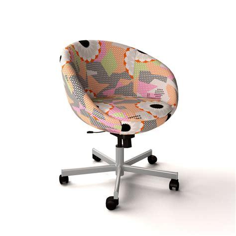 skruvsta swivel chair ikea skruvsta swivel chair 3d model