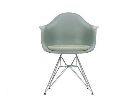 vitra sedie dar sedia con cuscino integrato collezione eames plastic