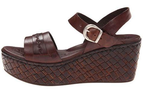 womens shoes born namibia platform wedge sandals espresso