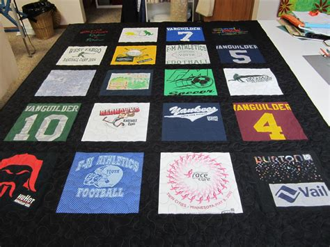 Quilting At Shirt Quilt by T Shirt Quilts Quilting