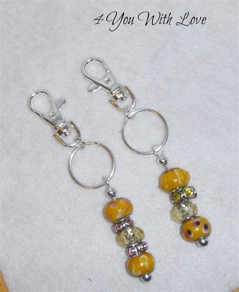 how to make beaded keychains for 5 minute key chain pandora style 4 you with