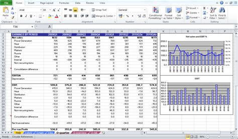 business valuation excel template company valuation model