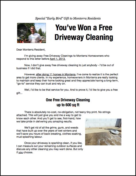 Powerwashing Marketing Flyers Pressure Washing Template