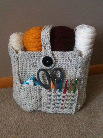 Crochet Bag Organizer Pattern | 1000 images about crochet inspiration on pinterest