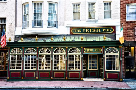 Online Home Plans by The Irish Pub Philadelphia Photograph By Bill Cannon