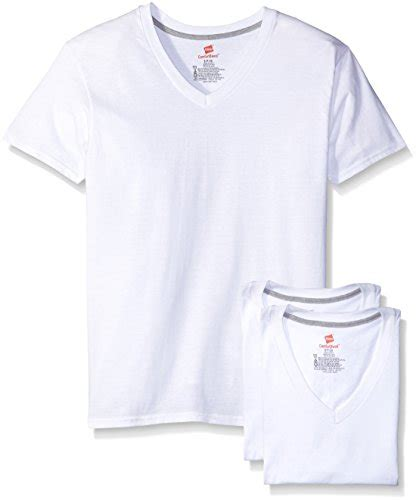 hanes comfort blend hanes men s comfort blend v neck undershirt 3 pack