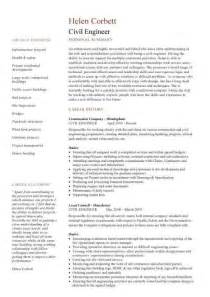 Structural Engineer Resume by Civil Engineering Cv Template Structural Engineer Highway Design Construction Resumes