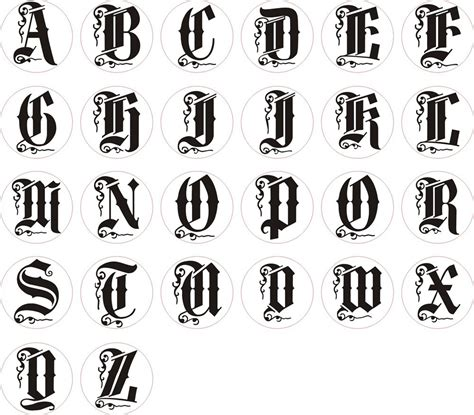 Letter Different Styles photos of different styles and pictures of alphabet letter