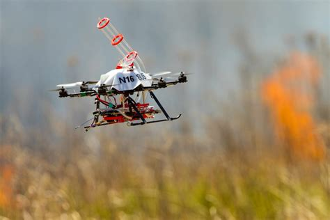 fire fighting drone drones could help fight fire with fire research at nebraska