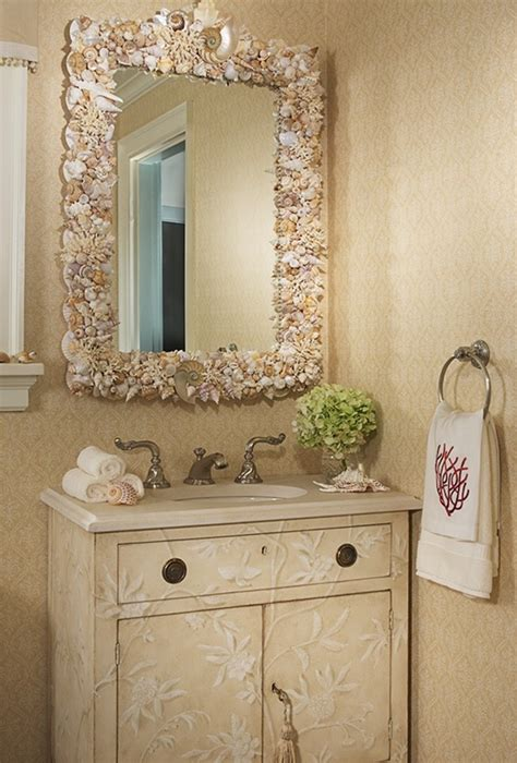 bathroom mirror decorating ideas sea inspired bathroom decor ideas inspiration and ideas