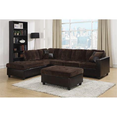 chocolate sofa set coaster 2 piece fabric sofa set in chocolate