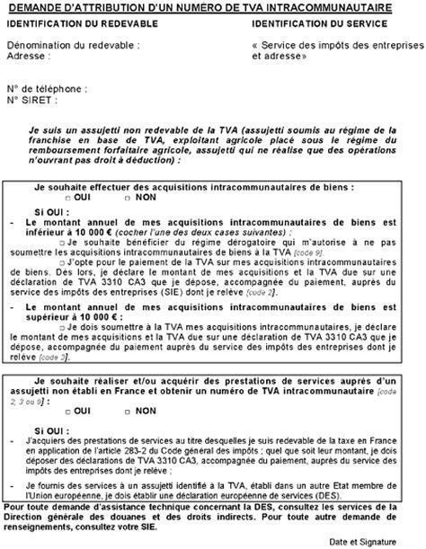 LETTRE - TVA - Obligations des assujettis - Obligations et