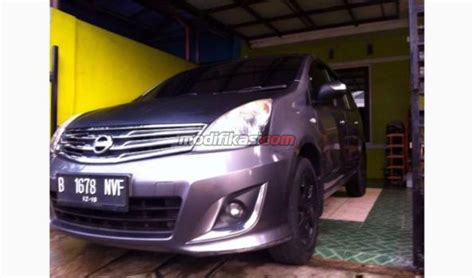 Peredam Kap Mesin Nissan Grand Livina Lama jual 2007 nissan grand livina modif grey black carbon