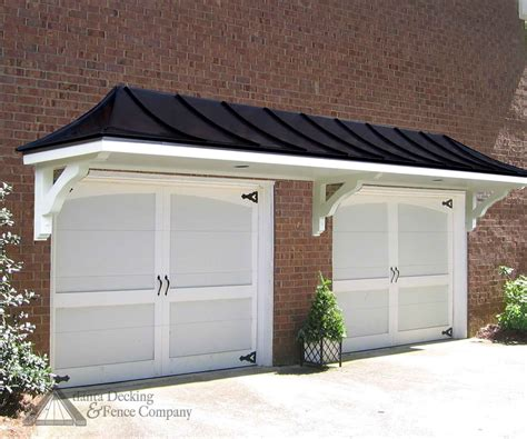 hip roof pergola garage doors from atlanta decking