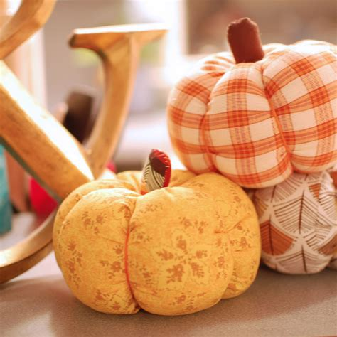 pattern for fabric pumpkins to make beautiful things