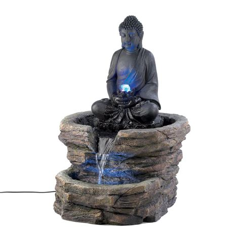 zen buddha fountain wholesale  koehler home decor