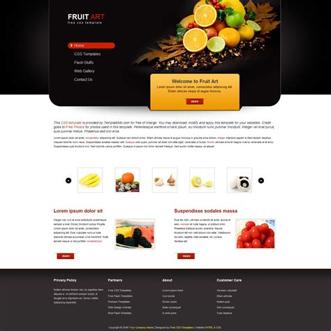 Free Css Templates Free Css Website Templates Download Webgranth Web Layout Templates