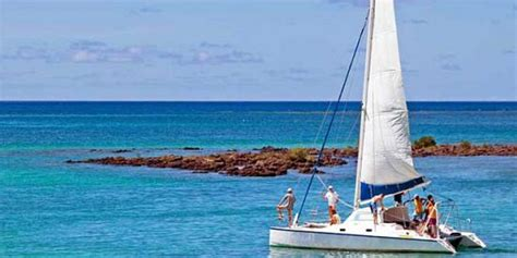 catamaran cruise east coast mauritius exclusive catamaran cruise coin de mire and flat island