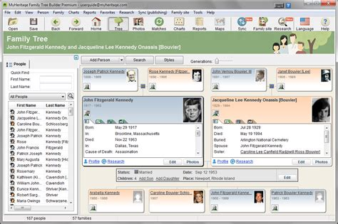 site tree generator family tree builder genealogy software fileeagle