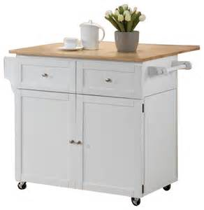 kitchen cart 2 door storage with 2 drawers and hidden cabinet in white finish kitchen islands