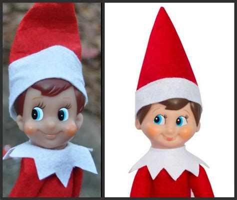 Printable Elf On The Shelf Face | elf imposter it has come to my attention today upon