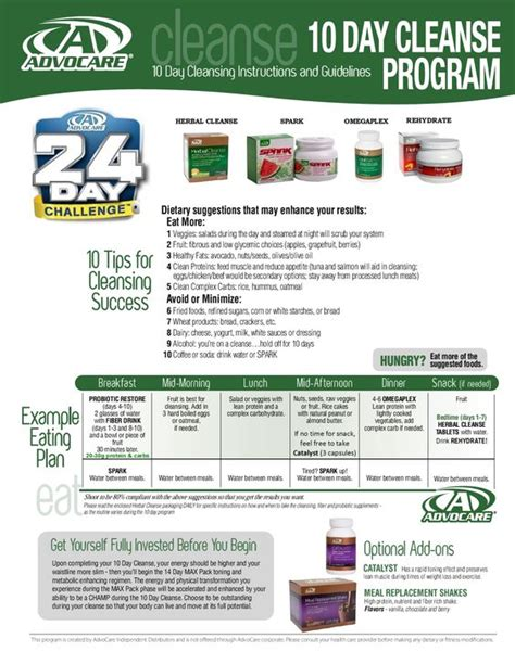 advocare 24 day challenge cleanse phase advocare 24 day challenge cleanse phase overview learn