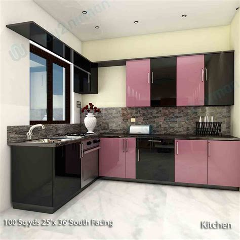 interior design of kitchen room way2nirman 100 sq yds 25x36 sq ft south house 2bhk