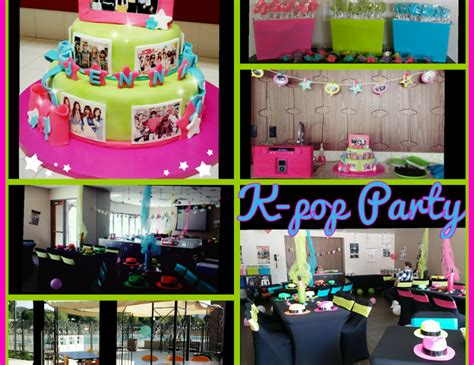 kpop themed party k pop jenna s 12 birthday quot kpop k pop party quot catch my