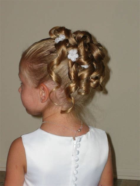 First Communion Hairstyles That Make For Great Memories
