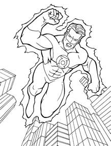 Green Lantern Coloring Pages green lantern coloring pages free printable coloring pages cool coloring pages