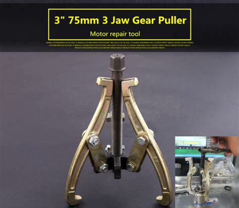 Fatools B3jgp200 Reversible 3 Jaw Puller Size 8 3 quot 75mm gear hub bearing puller 3 jaw reversible fly wheel pulley remover tool ebay