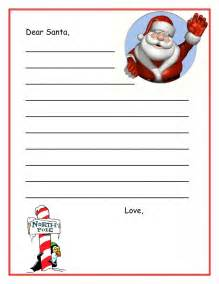 Letter From Santa Template Free Printable Free Dear Santa Letters Dear Santa Letters