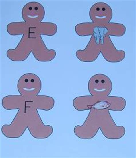 gingerbread man matching game printable preschool activities for the gingerbread man loose in the