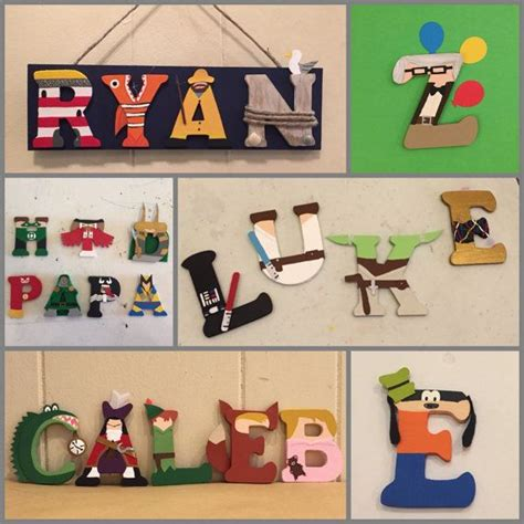 letter media wars character wooden letters each wood letter is 3inches 1562