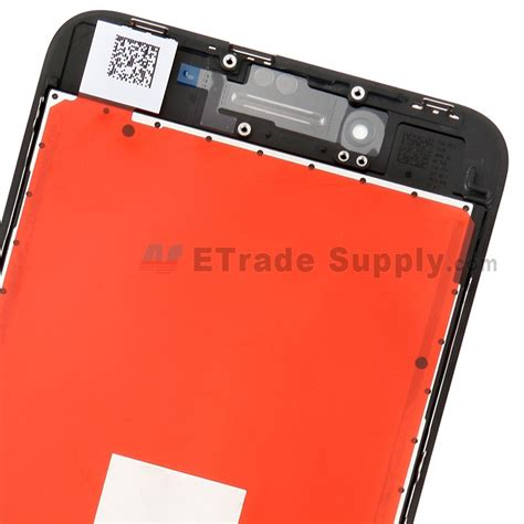Apple Iphone 8 Plus Screen Repair by Apple Iphone 8 Plus Lcd Screen And Digitizer Assembly With Frame Black Grade S Etrade Supply