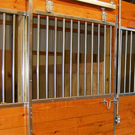 horse stall grill sections pro line horse stall kits ramm horse fencing stalls