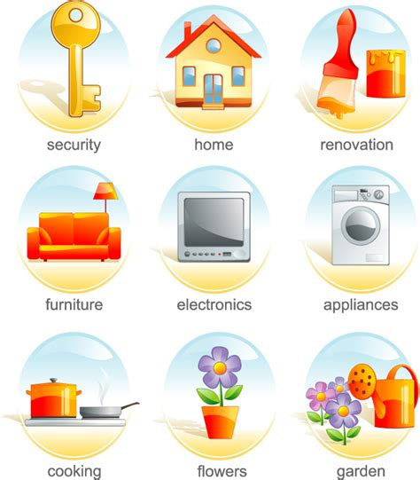 daily necessities icon vector vector icons free download