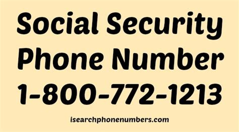 Search By Their Social Security Number Social Security Phone Number Search 1 800 Office Telephone No Fax