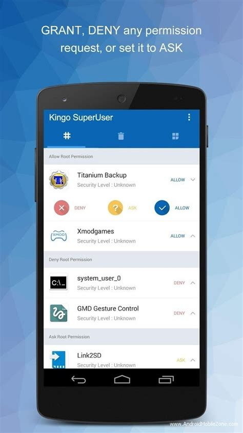 tablet root apk kingo superuser root apk v1 0 3 android application amzmodapk