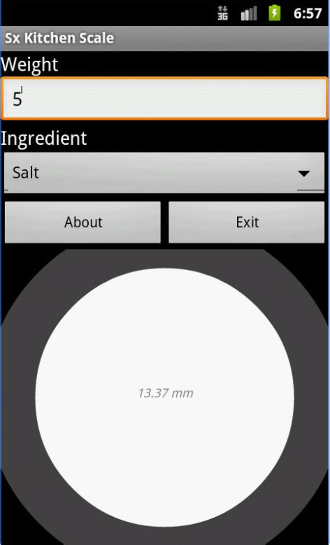scale app for android free digital scale app for android