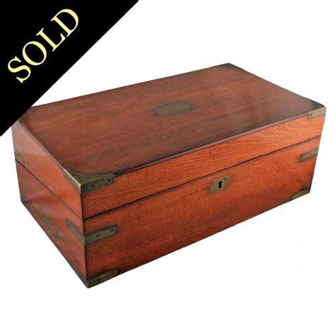 desk in a box antique writing box georgian box desk mahogany writing box