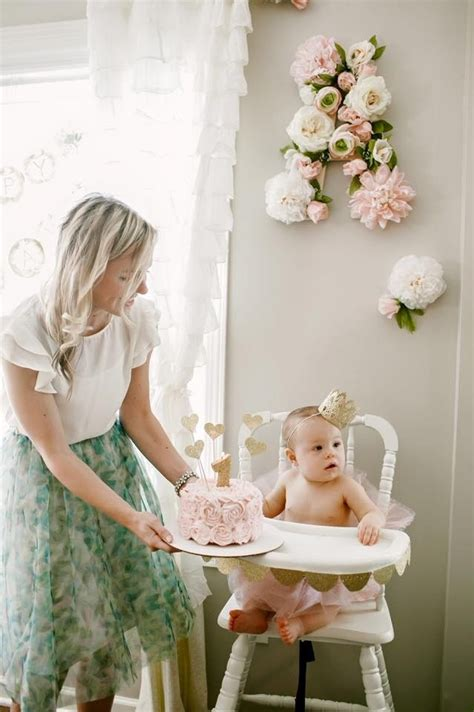 Ava's Floral First Birthday   Project Nursery