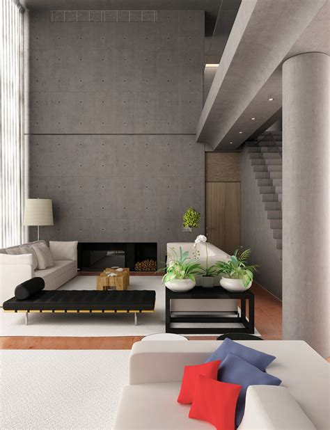Monochromatic Room by Monochrome Living Room At Beautiful Modern Ideas