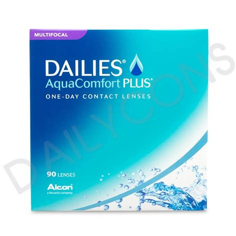 Dailies Aqua Comfort Alcon Dailies Aquacomfort Plus Multifocal 每日即棄老花隱形眼鏡90片裝