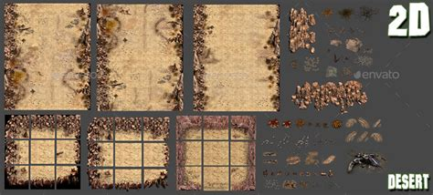 desert game backgrounds pack  beatheart graphicriver