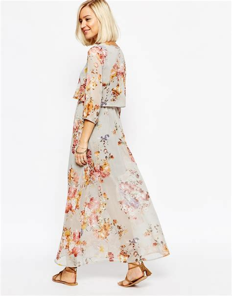 Frock Horror Oasis Tyre Print Dress by Vero Moda Floral Boho Maxi Dress Lyst